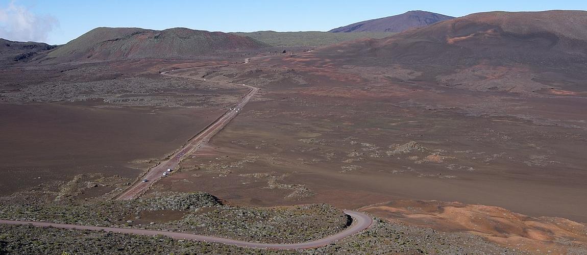 Route du volcan du Piton de la Fournaise